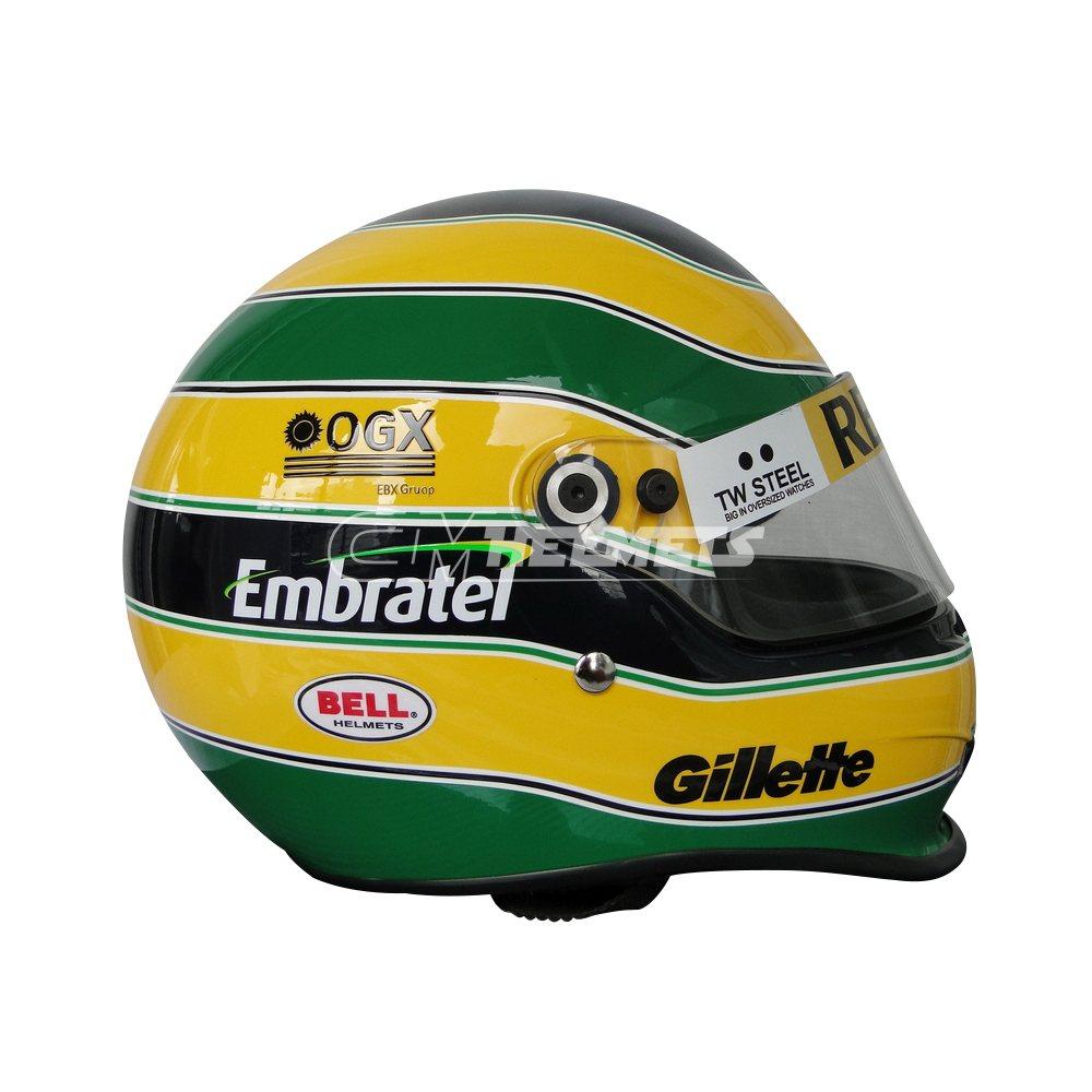 BRUNO SENNA 2011 F1 REPLICA HELMET FULL SIZE