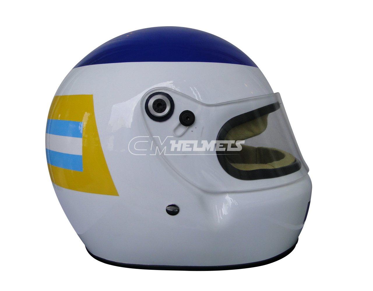 CARLOS REUTEMANN 1980 F1 REPLICA HELMET FULL SIZE