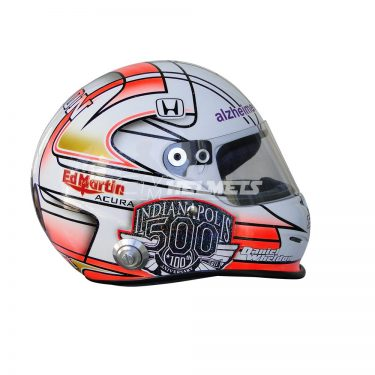 DAN WHELDON 2011 COMMEMORATIVE INDIANAPOLIS 500 REPLICA HELMET FULL SIZE
