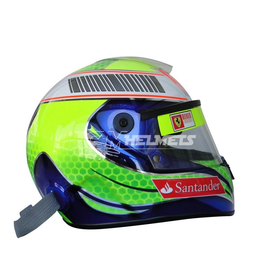 FELIPE MASSA 2011 CHROMED EDITION F1 REPLICA HELMET FULL SIZE