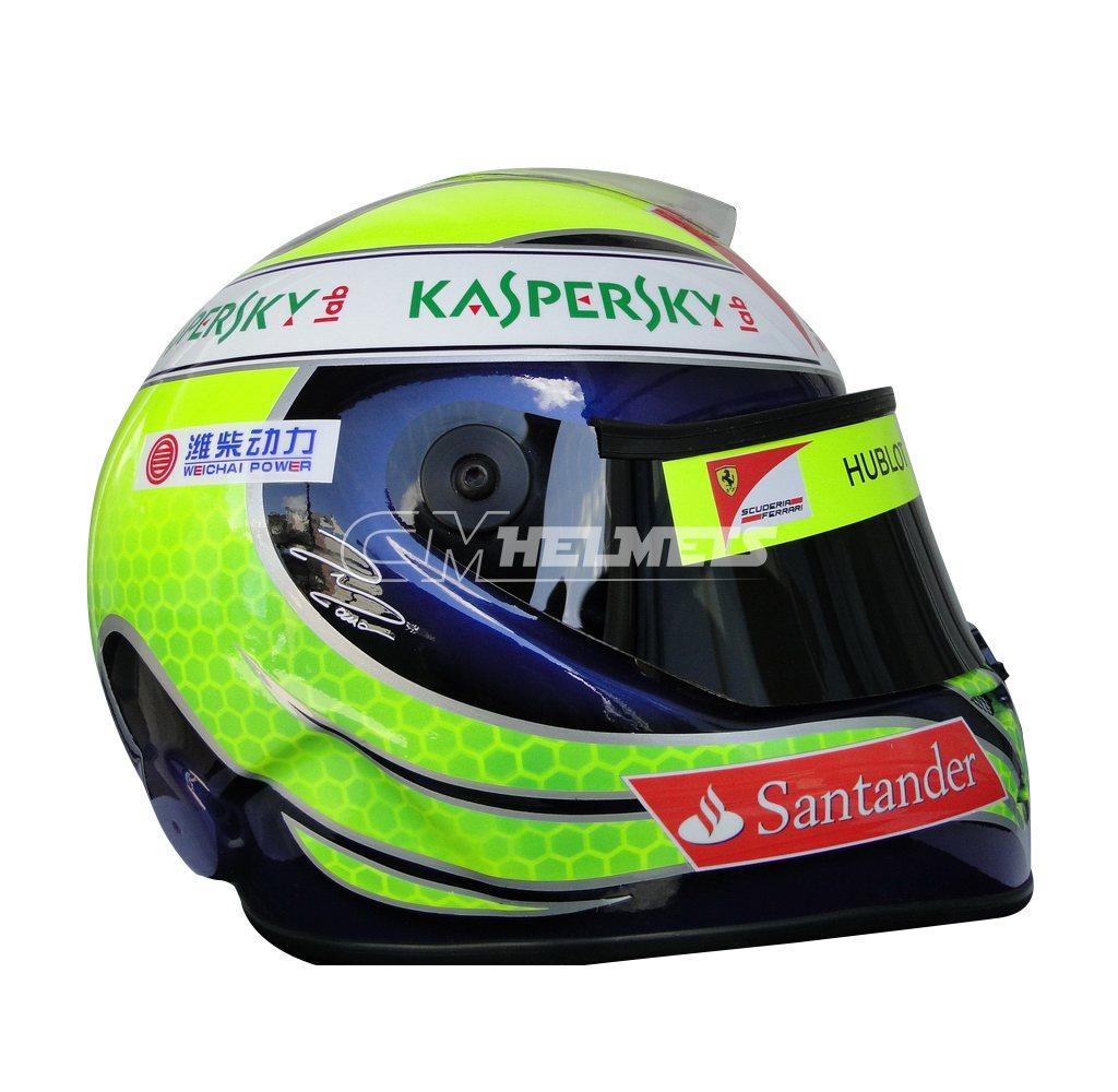 FELIPE MASSA 2013 F1 REPLICA HELMET FULL SIZE