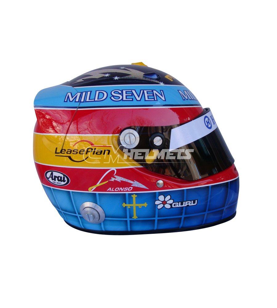 FERNANDO ALONSO 2004 F1 REPLICA HELMET FULL SIZE