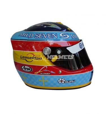 FERNANDO ALONSO 2005 WORLD CHAMPION F1 REPLICA HELMET FULL SIZE