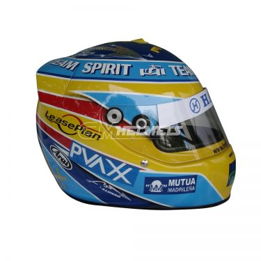 FERNANDO ALONSO 2006 TEAM SPIRIT F1 REPLICA HELMET FULL SIZE
