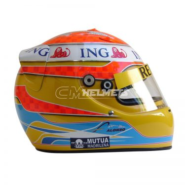 FERNANDO ALONSO 2009 F1 REPLICA HELMET FULL SIZE
