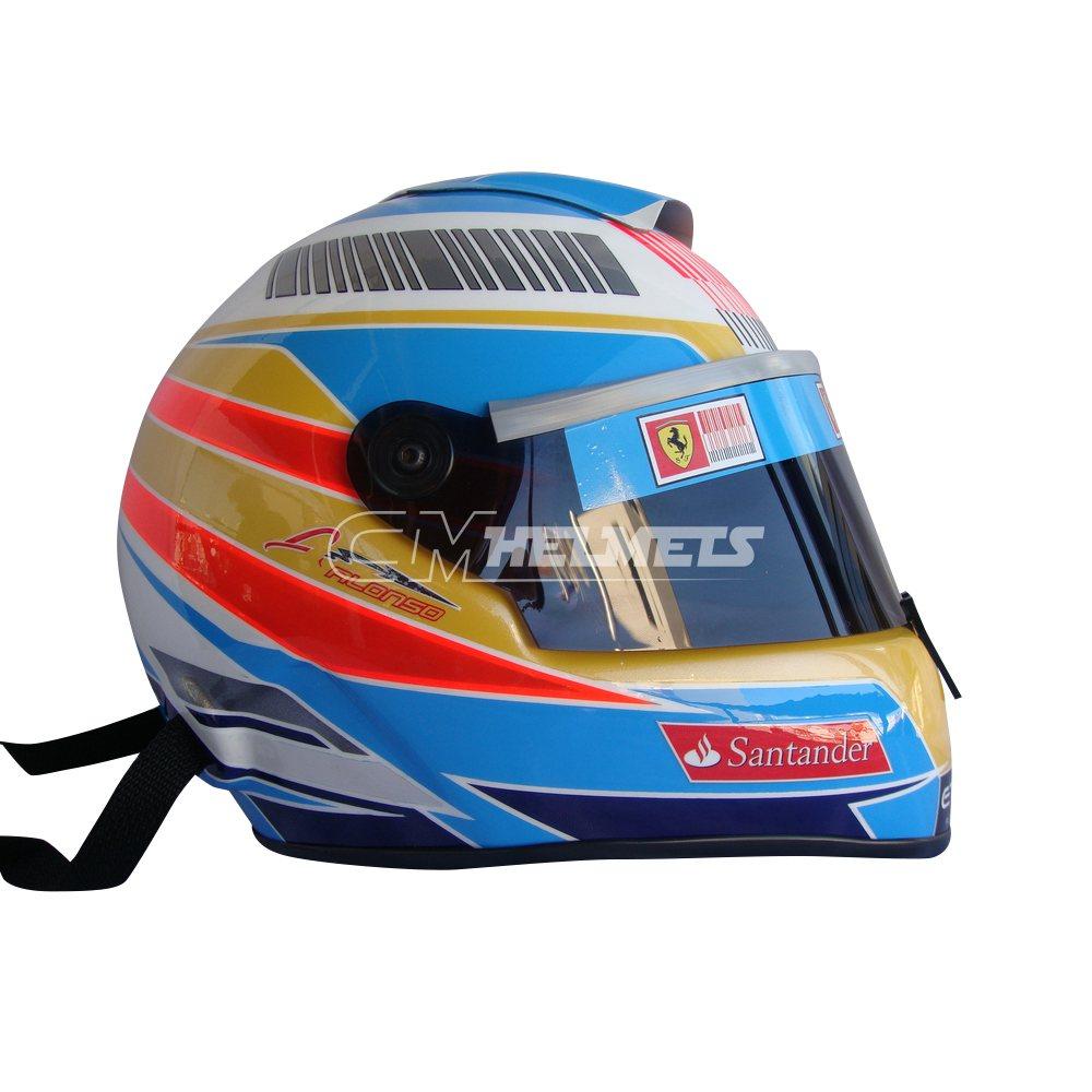 FERNANDO ALONSO 2010 F1 REPLICA HELMET FULL SIZE