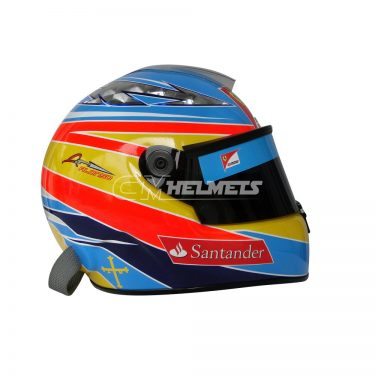 FERNANDO ALONSO 2011 F1 REPLICA HELMET FULL SIZE