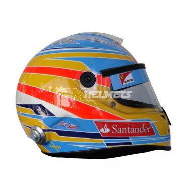FERNANDO ALONSO 2012 F1 REPLICA HELMET FULL SIZE