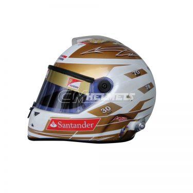 FERNANDO ALONSO 2012 MONACO GP F1 REPLICA HELMET FULL SIZE