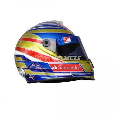 FERNANDO ALONSO 2012 SINGAPORE GP F1 REPLICA HELMET FULL SIZE
