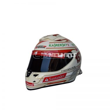 FERNANDO ALONSO 2013 INDIAN GP F1 REPLICA HELMET FULL SIZE
