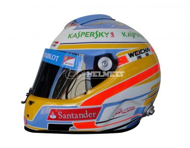 FERNANDO ALONSO 2014 F1 REPLICA HELMET FULL SIZE
