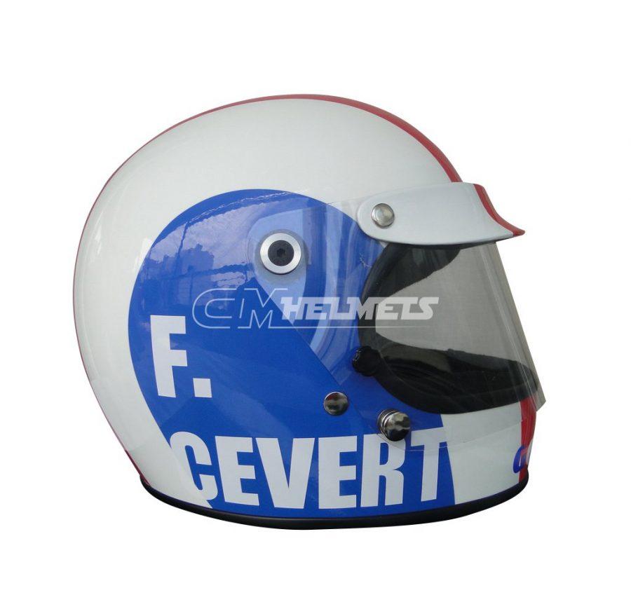 FRANCOIS CEVERT 1973 VINTAGE RETRO F1 REPLICA HELMET FULL SIZE