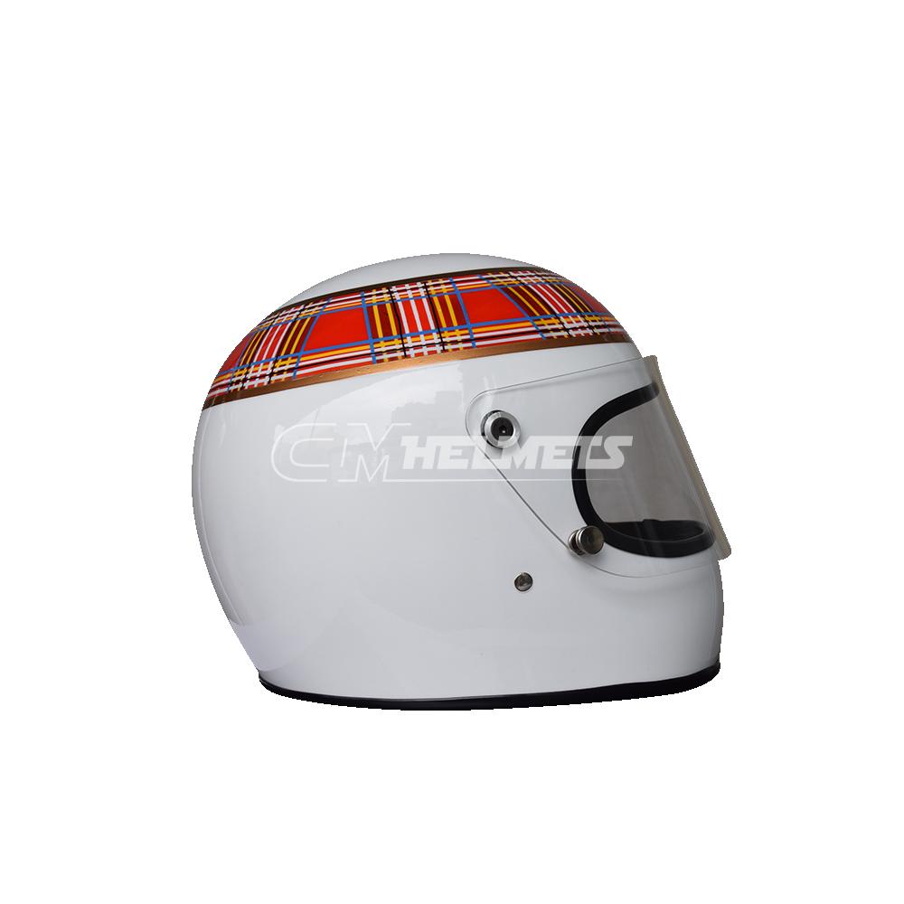 Jackie Stewart 1973 World Champion F1 Replica Helmet Full