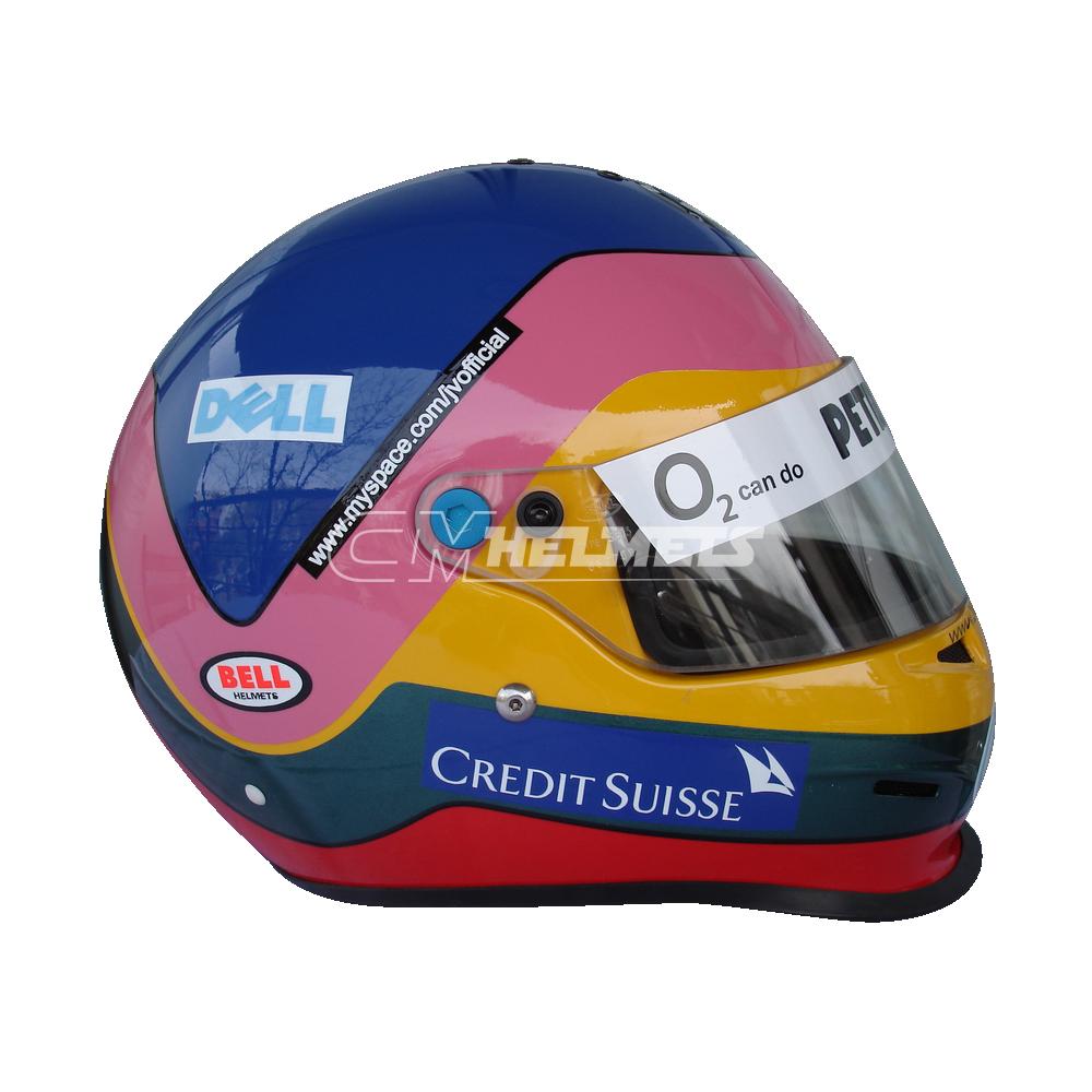 Jacques Villeneuve 2006 F1 Replica Helmet Full Size Cm