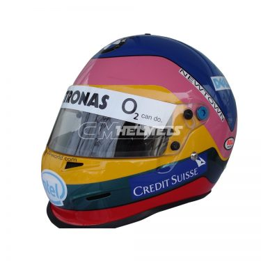 JACQUES VILLENEUVE 2006 F1 REPLICA HELMET FULL SIZE