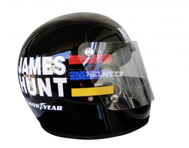 JAMES HUNT 1976 WORLD CHAMPION VINTAGE RETRO F1 REPLICA HELMET FULL SIZE