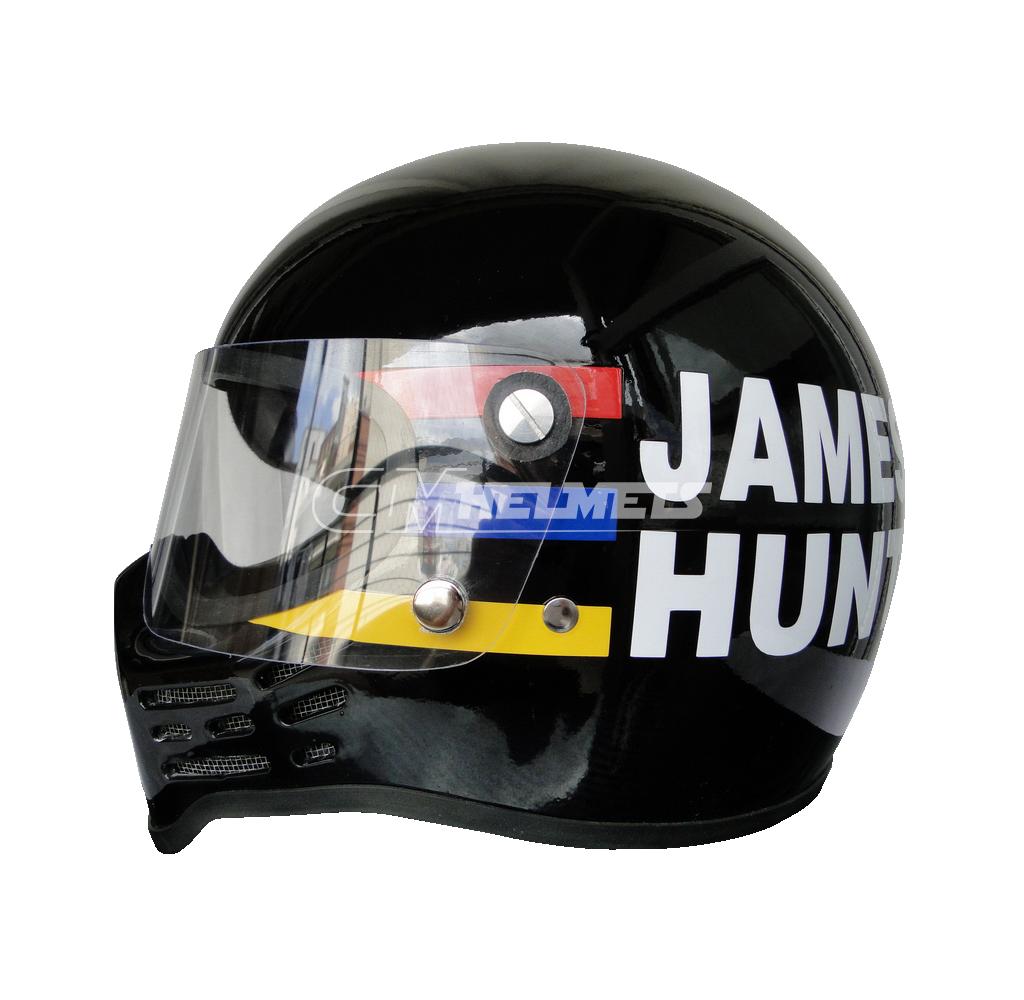 James Hunt 1979 Simpson Bandit Vintage Retro F1 Replica