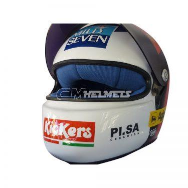 JEAN ALESI 1997 F1 REPLICA HELMET FULL SIZE