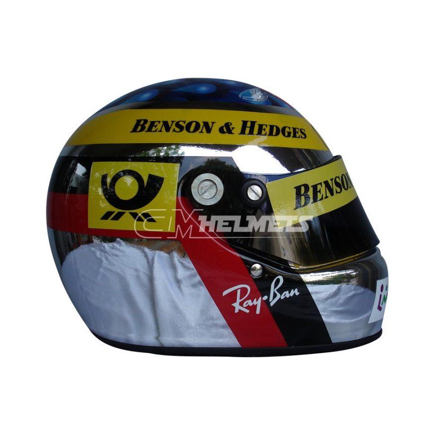 JEAN ALESI 2001 F1 REPLICA HELMET FULL SIZE