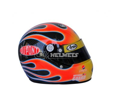 JEFF GORDON 2010 CARBON FIBRE NASCAR F1 REPLICA HELMET FULL SIZE