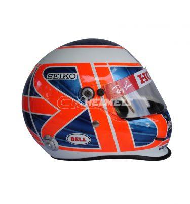 JENSON BUTTON 2008 F1 REPLICA HELMET FULL SIZE