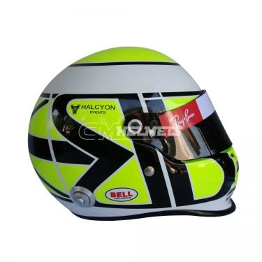 JENSON BUTTON 2009 F1 REPLICA HELMET FULL SIZE