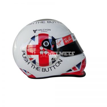JENSON BUTTON 2009 SILVERSTONE GP F1 REPLICA HELMET