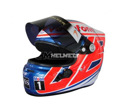 JENSON BUTTON 2010 SUZUKA GP F1 REPLICA HELMET FULL SIZE