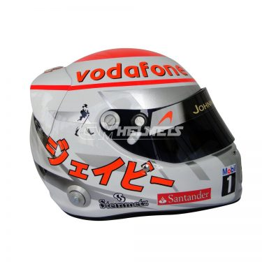JENSON BUTTON 2011 MONACO GP F1 REPLICA HELMET FULL SIZE