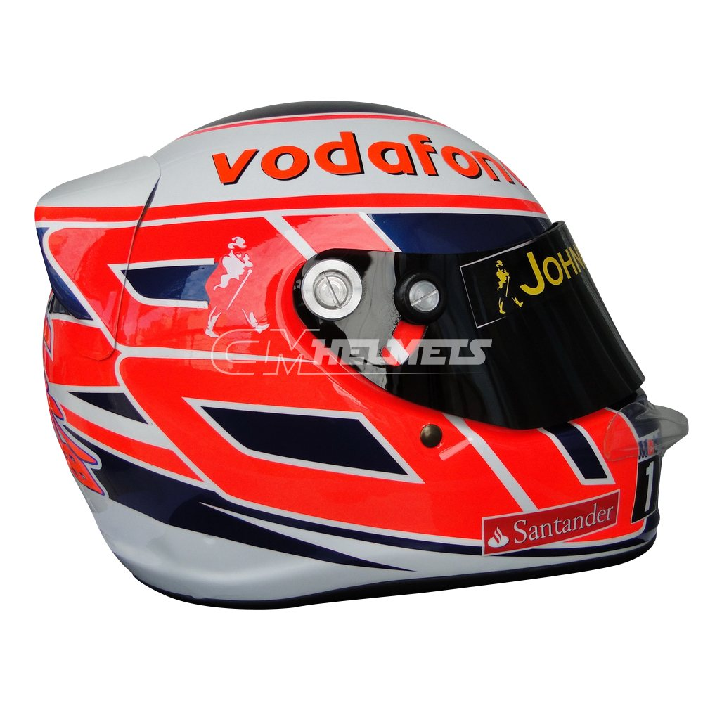 JENSON BUTTON 2013 F1 REPLICA HELMET FULL SIZE