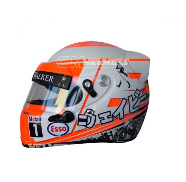 JENSON BUTTON 2015 F1 REPLICA HELMET FULL SIZE