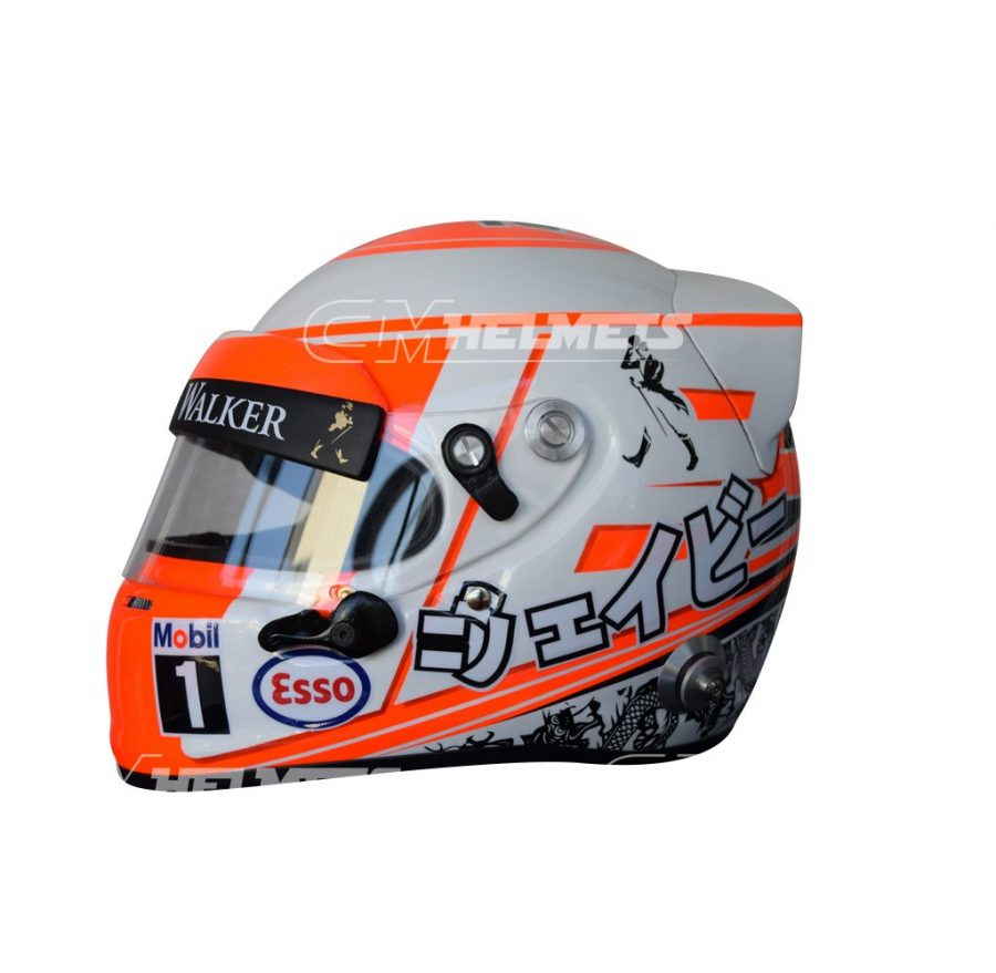 JENSON BUTTON 2015 F1 REPLICA HELMET FULL SIZE