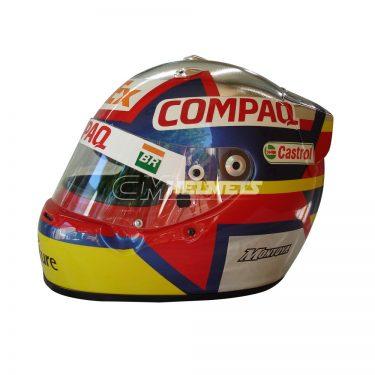 JUAN PABLO MONTOYA 2003 F1 REPLICA HELMET FULL SIZE