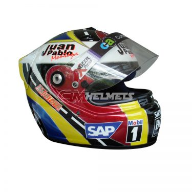 JUAN PABLO MONTOYA 2005 INTERLAGOS GP F1 REPLICA HELMET FULL SIZE