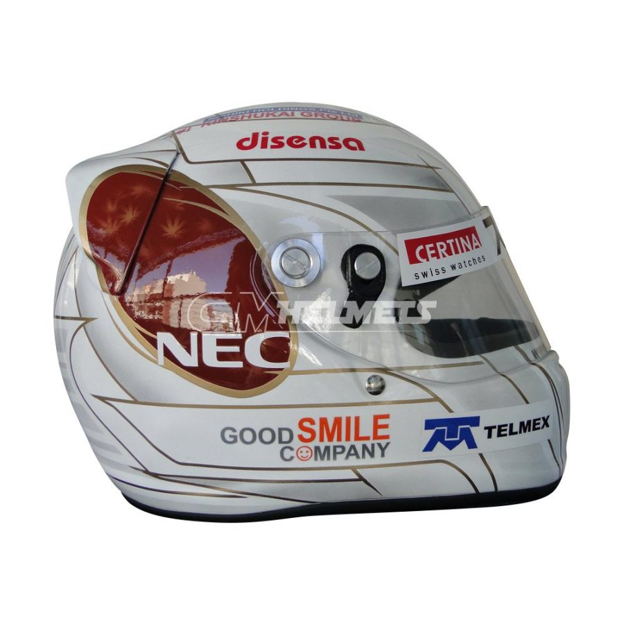 KAMUI KOBAYASHI GP 2011 F1 REPLICA HELMET FULL SIZE