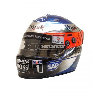 KIMI RAIKKONEN 2004 MONACO GP F1 REPLICA HELMET FULL SIZE