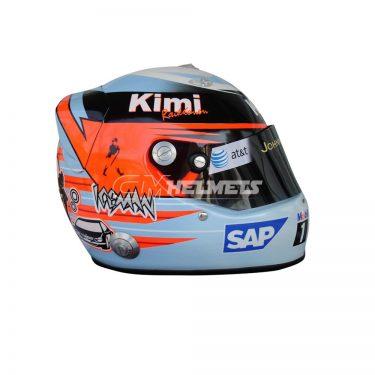 KIMI RAIKKONEN 2006 MONACO GP F1 REPLICA HELMET FULL SIZE