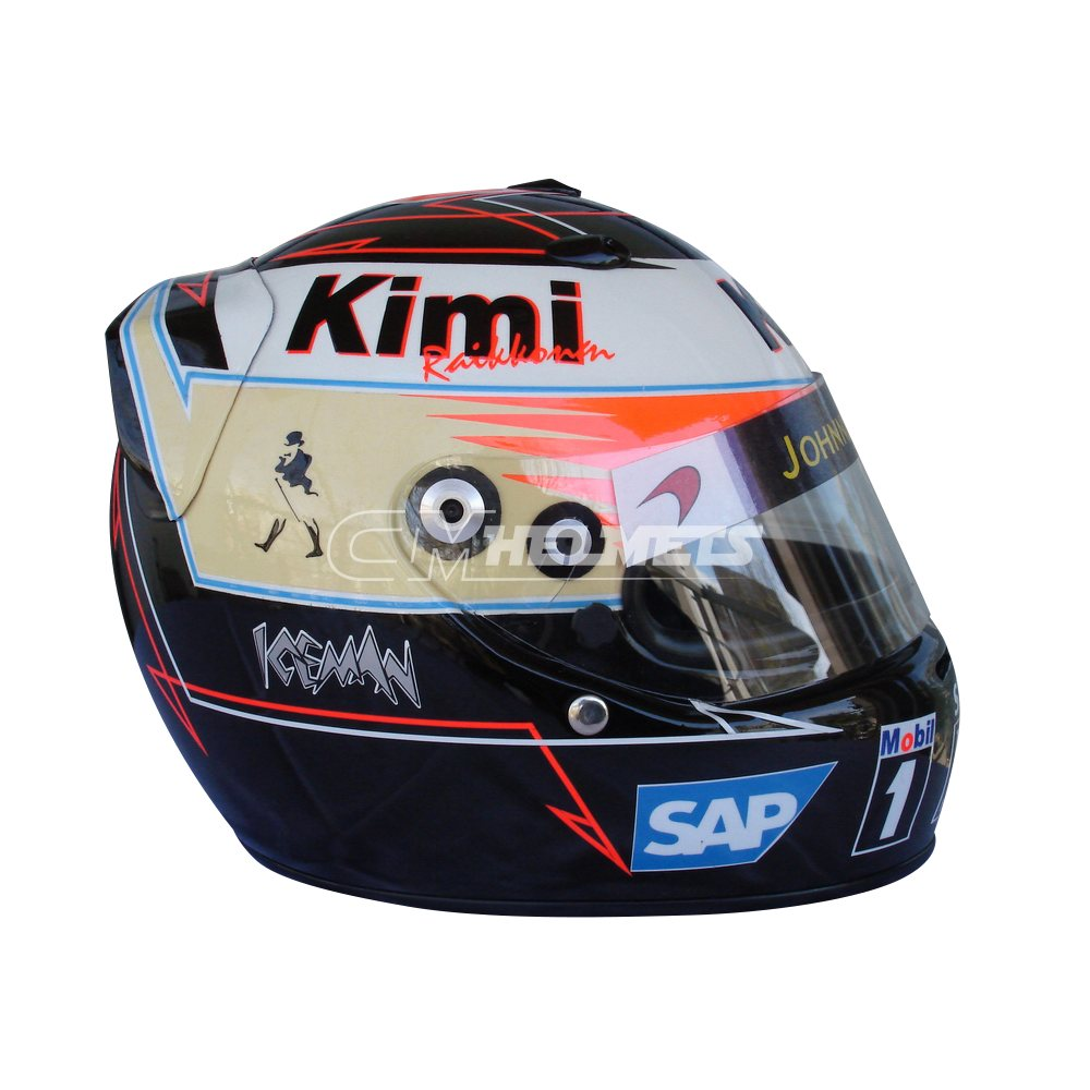 KIMI RAIKKONEN 2006 WORLD CHAMPION JOHNNIE WALKER F1 REPLICA HELMET