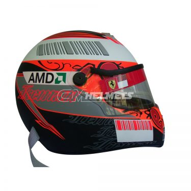 KIMI RAIKKONEN 2008 NEW VERSION F1 REPLICA HELMET FULL SIZE