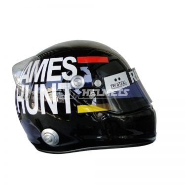 KIMI RAIKKONEN 2012 JAMES HUNT TRIBUTE MONACO GP F1 REPLICA HELMET FULL SIZE