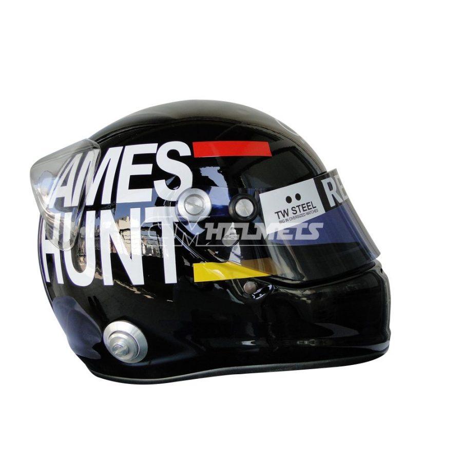 KIMI RAIKKONEN 2012 JAMES HUNT TRIBUTE MONACO GP F1 REPLICA HELMET FULL SIZE