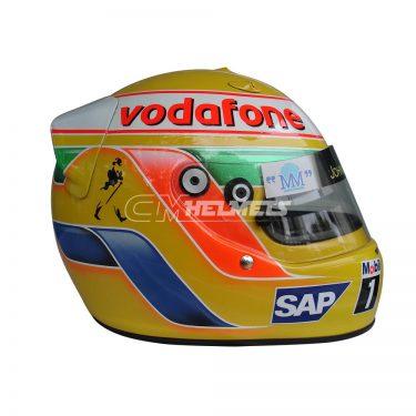 LEWIS HAMILTON 2007 F1 REPLICA HELMET FULL SIZE
