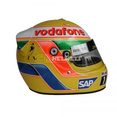 LEWIS HAMILTON 2008 F1 REPLICA HELMET FULL SIZE