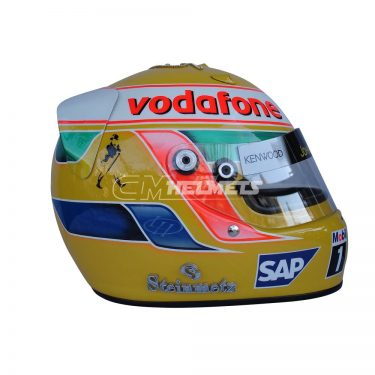 LEWIS HAMILTON 2008 MONACO GP DIAMOND EDITION F1 REPLICA HELMET FULL SIZE