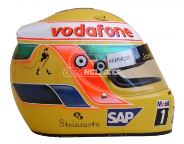 LEWIS HAMILTON 2009 MONACO GP DIAMOND EDITION F1 REPLICA HELMET FULL SIZE
