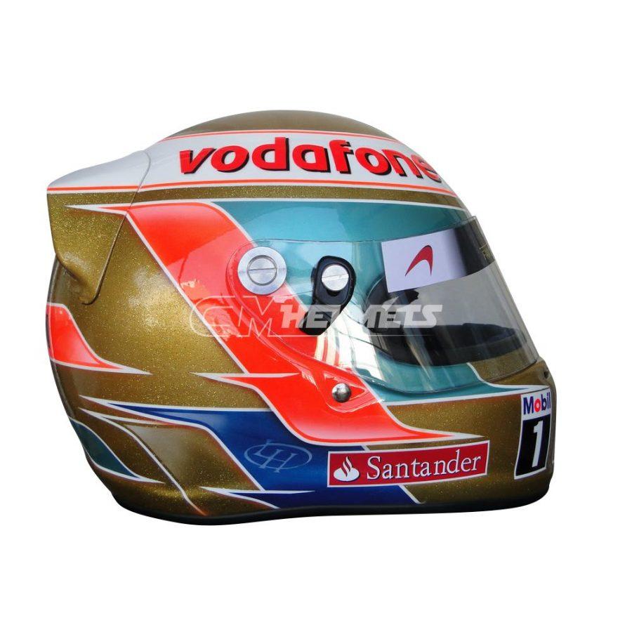 LEWIS HAMILTON 2011 ABU DHABI GP F1 REPLICA HELMET FULL SIZE
