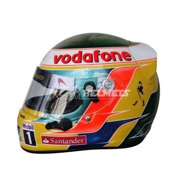 LEWIS HAMILTON 2011 INDIAN GP BOB MARLEY TRIBUTE F1 REPLICA HELMET FULL SIZE