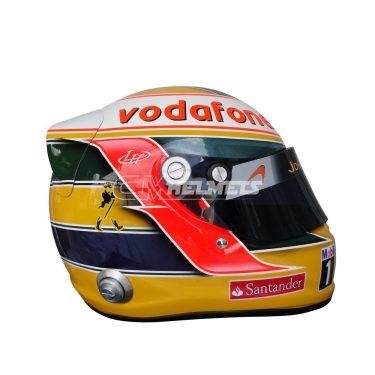 LEWIS HAMILTON 2011 INTERLAGOS GP F1 REPLICA HELMET FULL SIZE