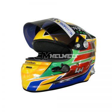 LEWIS HAMILTON 2013 GP F1 REPLICA HELMET FULL SIZE